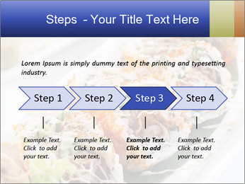 Delicious spider roll PowerPoint Template - Slide 4