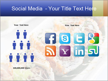 Delicious spider roll PowerPoint Template - Slide 5