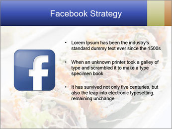 Delicious spider roll PowerPoint Template - Slide 6