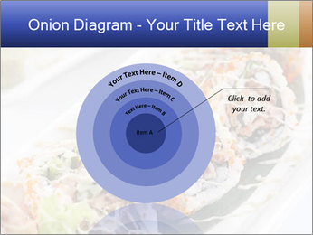 Delicious spider roll PowerPoint Template - Slide 61