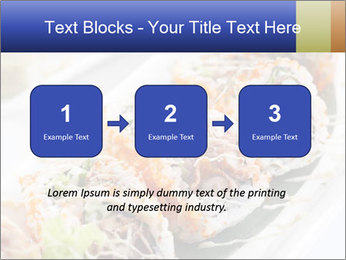Delicious spider roll PowerPoint Template - Slide 71