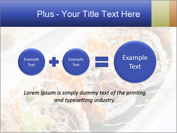Delicious spider roll PowerPoint Template - Slide 75