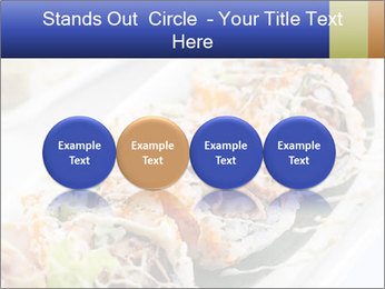 Delicious spider roll PowerPoint Template - Slide 76