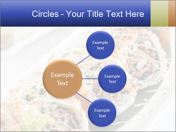 Delicious spider roll PowerPoint Template - Slide 79