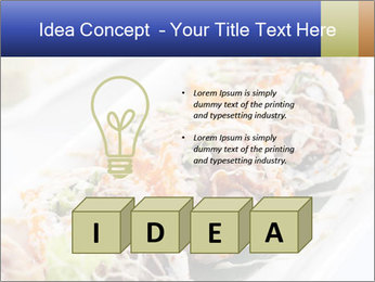Delicious spider roll PowerPoint Template - Slide 80