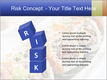 Delicious spider roll PowerPoint Template - Slide 81