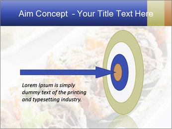 Delicious spider roll PowerPoint Template - Slide 83