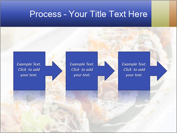 Delicious spider roll PowerPoint Template - Slide 88