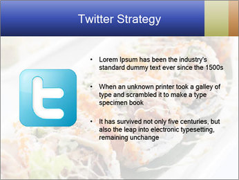Delicious spider roll PowerPoint Template - Slide 9