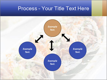 Delicious spider roll PowerPoint Template - Slide 91