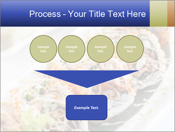 Delicious spider roll PowerPoint Template - Slide 93