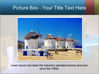 Greece vacation PowerPoint Template - Slide 15
