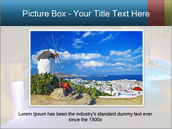 Greece vacation PowerPoint Template - Slide 16