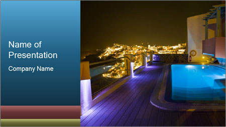 Greece vacation PowerPoint Template