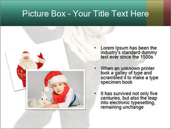 Funny grey rabbit PowerPoint Template - Slide 20
