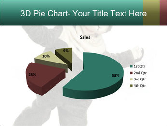 Funny grey rabbit PowerPoint Template - Slide 35