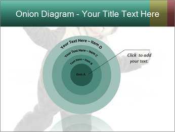 Funny grey rabbit PowerPoint Template - Slide 61