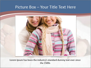 Happy young couple sleeps PowerPoint Template - Slide 15