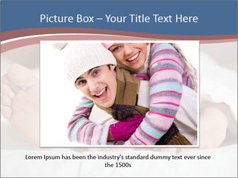Happy young couple sleeps PowerPoint Template - Slide 16