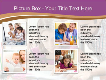 Young father PowerPoint Template - Slide 14