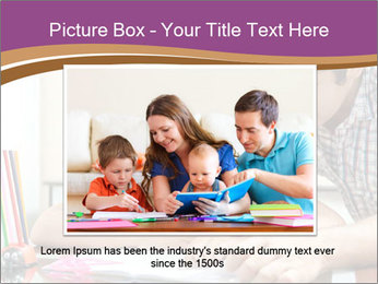 Young father PowerPoint Template - Slide 15