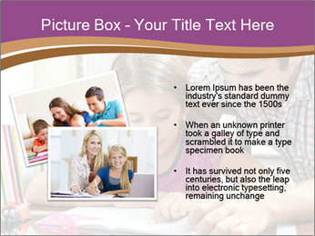 Young father PowerPoint Template - Slide 20