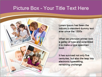 Young father PowerPoint Template - Slide 23