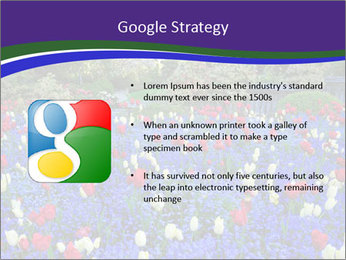 Butchart garden PowerPoint Template - Slide 10