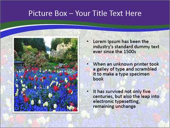 Butchart garden PowerPoint Template - Slide 13