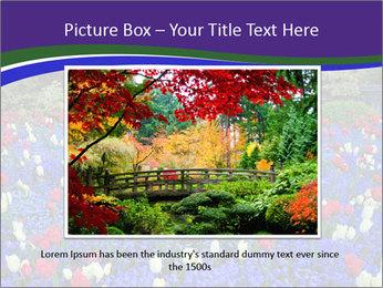 Butchart garden PowerPoint Template - Slide 16