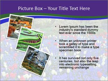 Butchart garden PowerPoint Template - Slide 17
