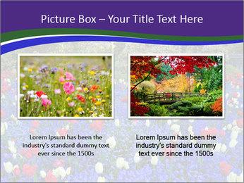 Butchart garden PowerPoint Template - Slide 18