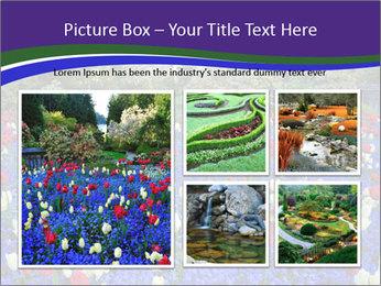 Butchart garden PowerPoint Template - Slide 19