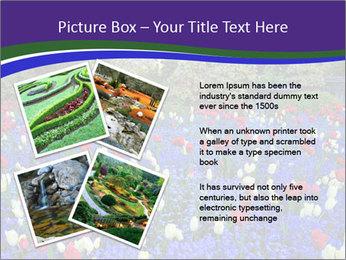 Butchart garden PowerPoint Template - Slide 23