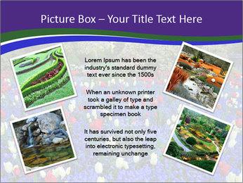 Butchart garden PowerPoint Template - Slide 24