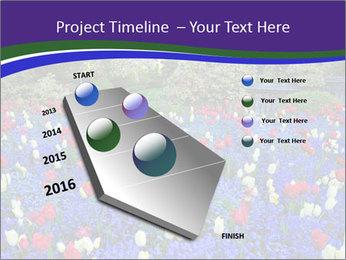 Butchart garden PowerPoint Template - Slide 26