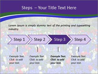 Butchart garden PowerPoint Template - Slide 4