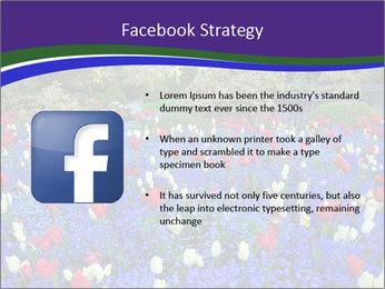 Butchart garden PowerPoint Template - Slide 6
