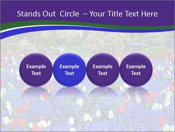 Butchart garden PowerPoint Template - Slide 76