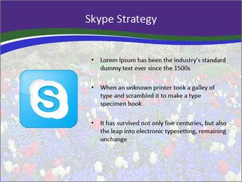 Butchart garden PowerPoint Template - Slide 8