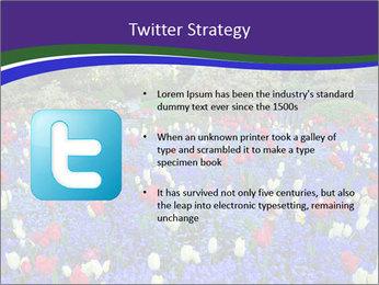 Butchart garden PowerPoint Template - Slide 9