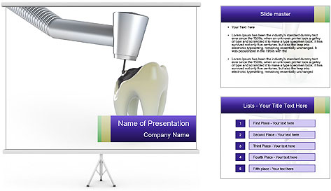 Treatment PowerPoint Template