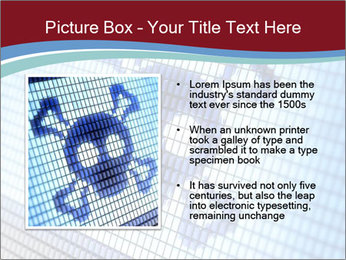 Roger symbol on screen PowerPoint Template - Slide 13