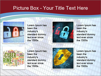 Roger symbol on screen PowerPoint Template - Slide 14