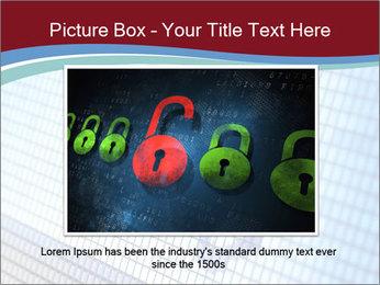 Roger symbol on screen PowerPoint Template - Slide 16