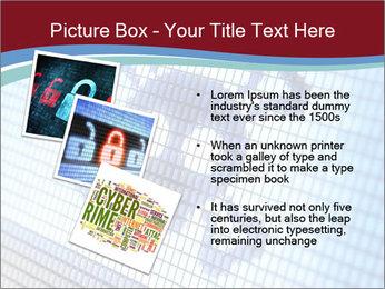 Roger symbol on screen PowerPoint Template - Slide 17