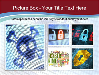 Roger symbol on screen PowerPoint Template - Slide 19