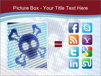 Roger symbol on screen PowerPoint Template - Slide 21
