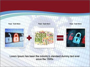 Roger symbol on screen PowerPoint Template - Slide 22