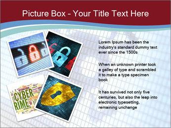 Roger symbol on screen PowerPoint Template - Slide 23
